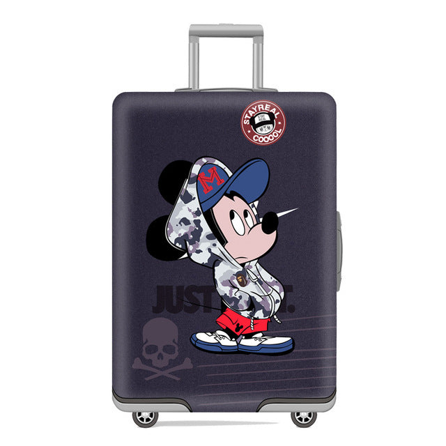 Swag Mickey Mouse - New elastic protective luggage cover