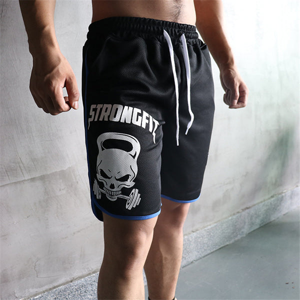 The StrongFit Skull Fitness Short