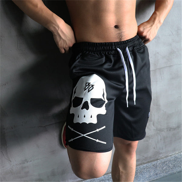The Skull - Fitness Short