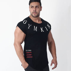 Short sleeve cotton Creative Printed Bodybuilding Fitness T-Shirt Νο16