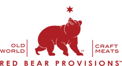 red bear provisions logo salami craft meats old world