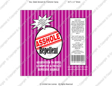 Friends Digital Asshole Repellent Label -  Instant Download (M230) Digital Air Freshener Graphics - PERSONAL USE Only