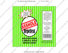 Inlaws Digital Asshole Repellent Label -  Instant Download (M230) Digital Air Freshener Graphics - PERSONAL USE Only