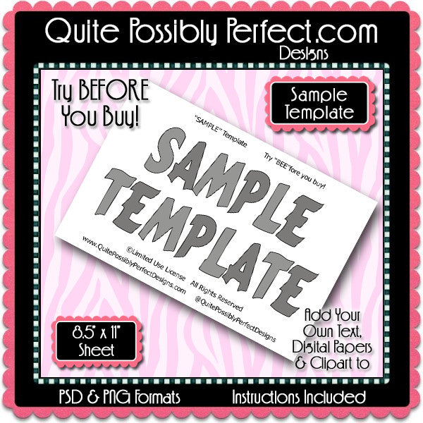 FREE Sample Template
