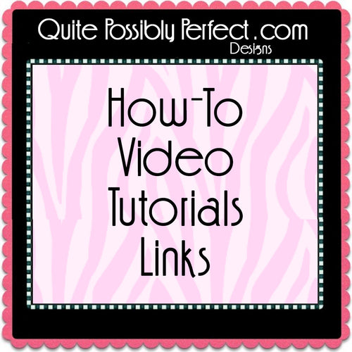 Video Tutorial Instructions
