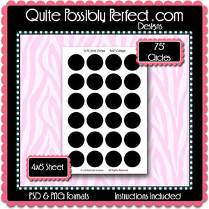 Candy Label Preview 4 Template Set - Instant Download PSD and PNG Formats (Temp530) Digital Bottlecap Collage Sheet Template