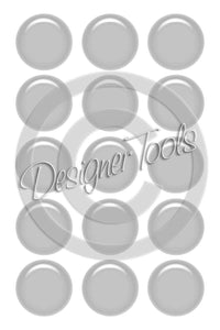 Bottle Cap Template Add-On Gloss Layer - Instant Download - PNG Format (TAO10) Digital Bottlecap Collage Sheet Template Designer Tools