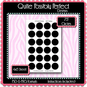 Candy Label Preview 3 Template Set - Instant Download PSD and PNG Formats (Temp529) Digital Bottlecap Collage Sheet Template