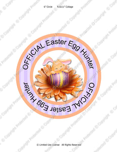 Official Egg Hunter Iron-On Transfer - Instant Download JPEG (M169) Digital JPG Ready to Print on Transfer Paper or Sticker Paper