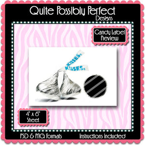 Candy Label Preview Template Instant Download PSD and PNG Formats (Temp274B) Digital Bottlecap Collage Sheet Template