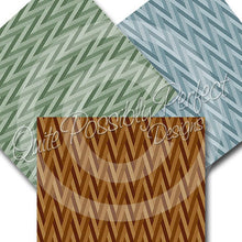 Chevron Digital Paper Pack Instant Download (DGP121) ZigZag Chevron for Scrapbooking, Collage Sheets,Greeting Cards, Bottle Cap