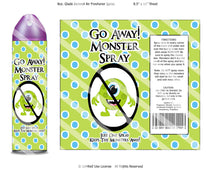 Digital Monster Spray Label Wrappers  -  Instant Download (M110) Digital Monster Spray Graphics - PERSONAL USE Only