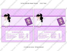 Digital Communion Girl 3 Candy Bar Label  -  Instant Download (M149) Digital Party Graphics - PERSONAL USE Only