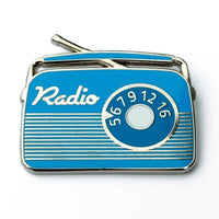 Retro Radio Enamel Pin