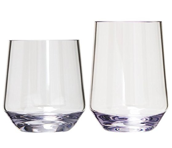Hamptons Nonbreakable Acrylic Glasses