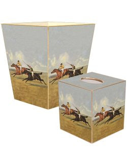 At The Races Decoupage Bath Set