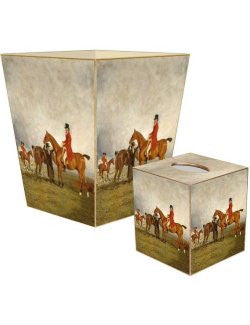 The Hunt Decoupage Bath Set