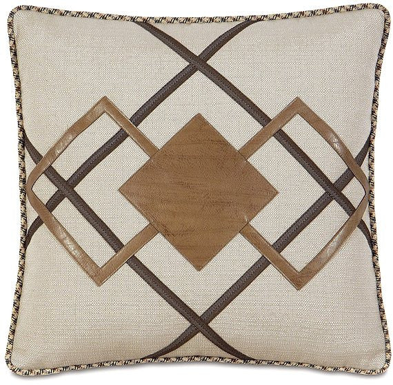 Equine Elements: Diamond Applique Accent Pillow