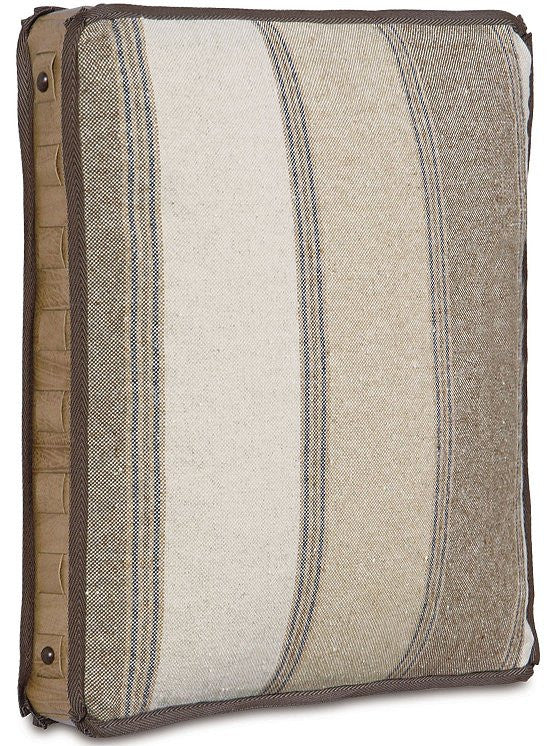 Equine Elements: Striped Box Accent Pillow