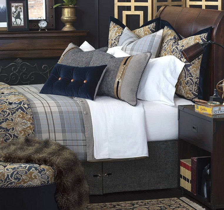luxury equestrian style bed set