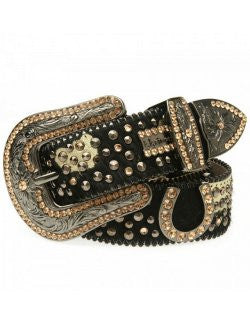 Swarovski Crystals Belt: Colorado Bronze