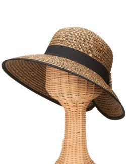 Chic Wrap Back Derby Hat