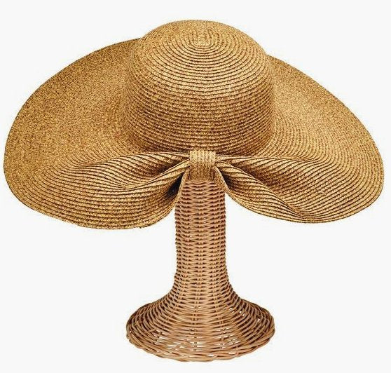 Gathered Back Derby Hat