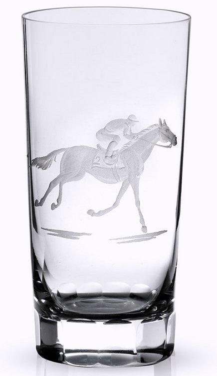 At The Track Engraved Crystal Barware Sets