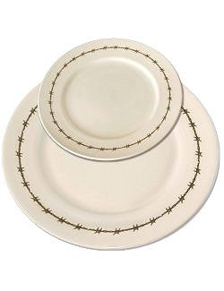Barbed Wire Rustic Stoneware Set