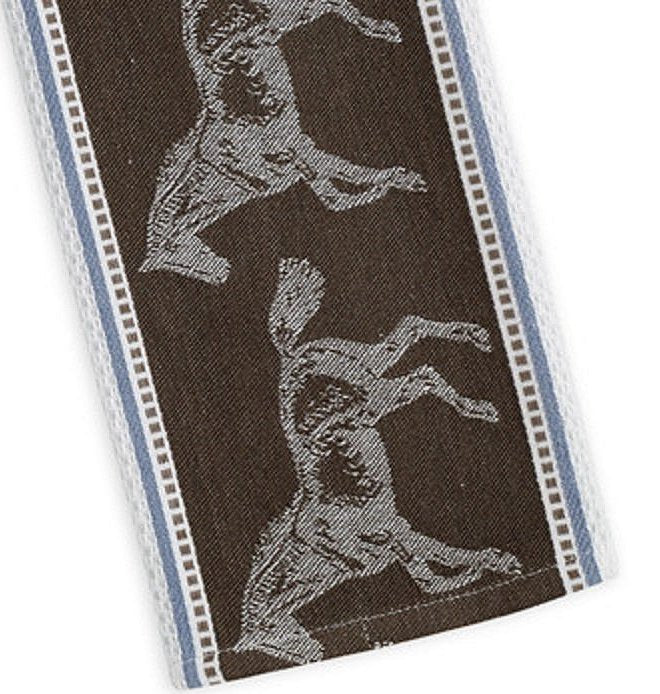 Jacquard Cotton Equestrian Dish Towel Set