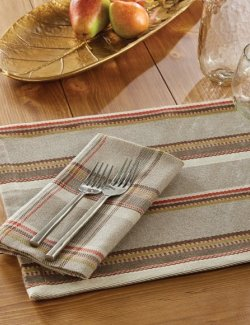 Southwestern Stripe Cotton Table Linen Sets
