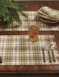 Seasons Summer Plaid Table Linen Sets