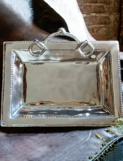 Eco-Friendly Aluminum Horse Tack Serving Trays