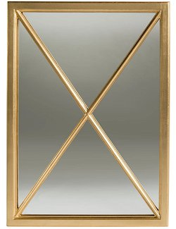 Golden Door Wall Mirror