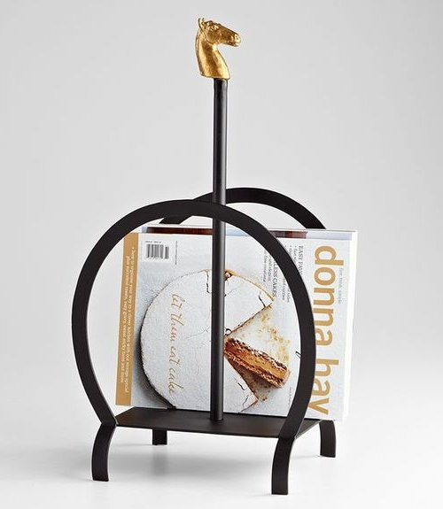 Golden Stallion Magazine Stand