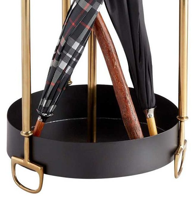 Horse Bit Trim Umbrella Stand