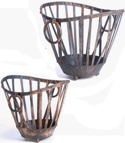 Farmer's Market Iron Basket Set