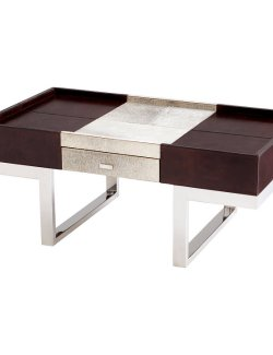 Contempo Leather & Hide Coffee Table