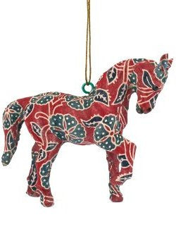 Calico Horse Ornament Sets