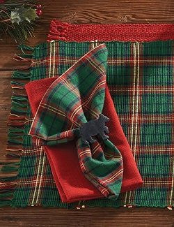 Holiday Tartan Plaid Table Linens
