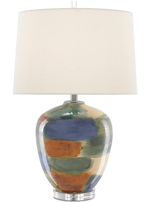 Painted Desert Artisan Table Lamp