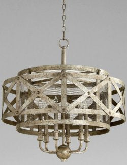 Iron Gatehouse Chandelier