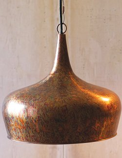 Molten Tear Drop Pendant Light