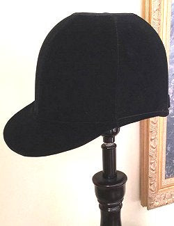Velvet Riding Hat Accent Lamp