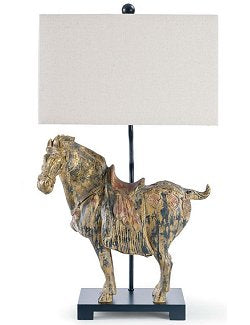 Antiquity Horse Lamp