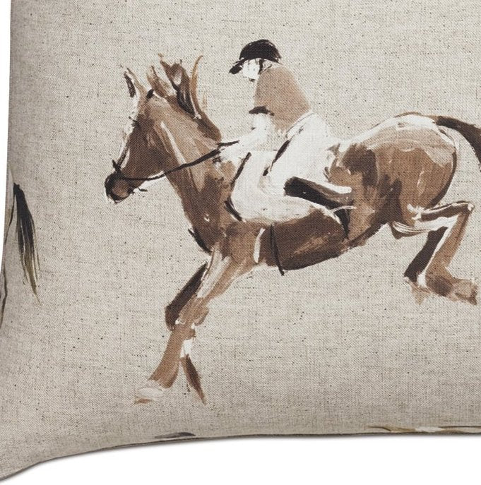 Jumpers Imprinted Linen Accent Pillow