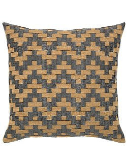 Ranch Style Basket Weave Diamonds Indoor/Outdoor Pillow