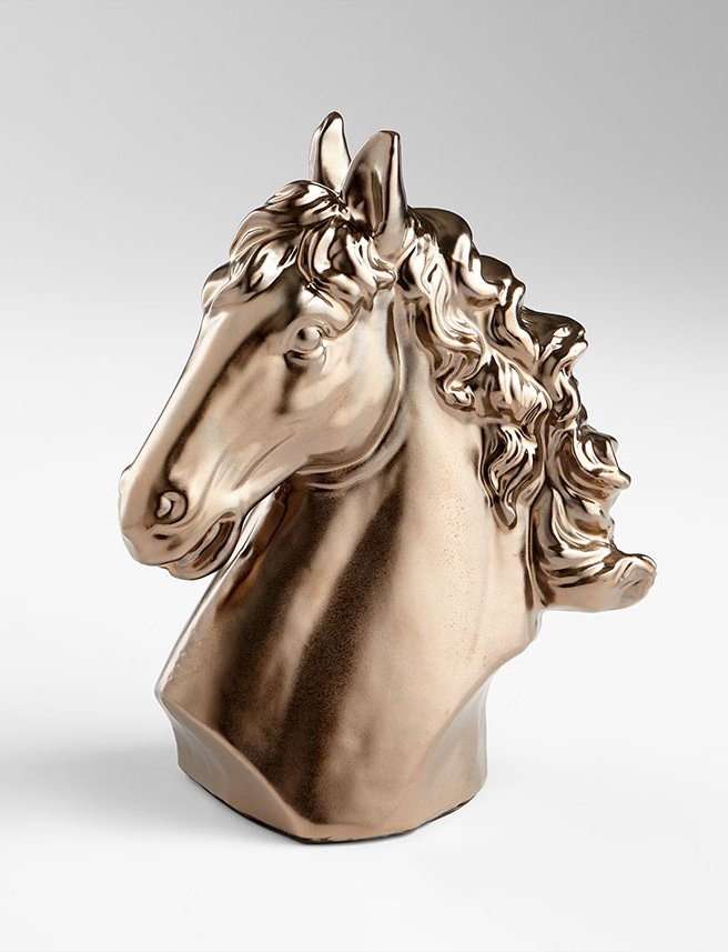 Bold Chestnut Mare Bust