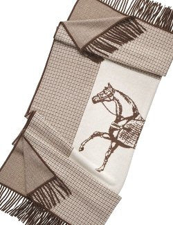 Luxury Cashmere Equine Throw