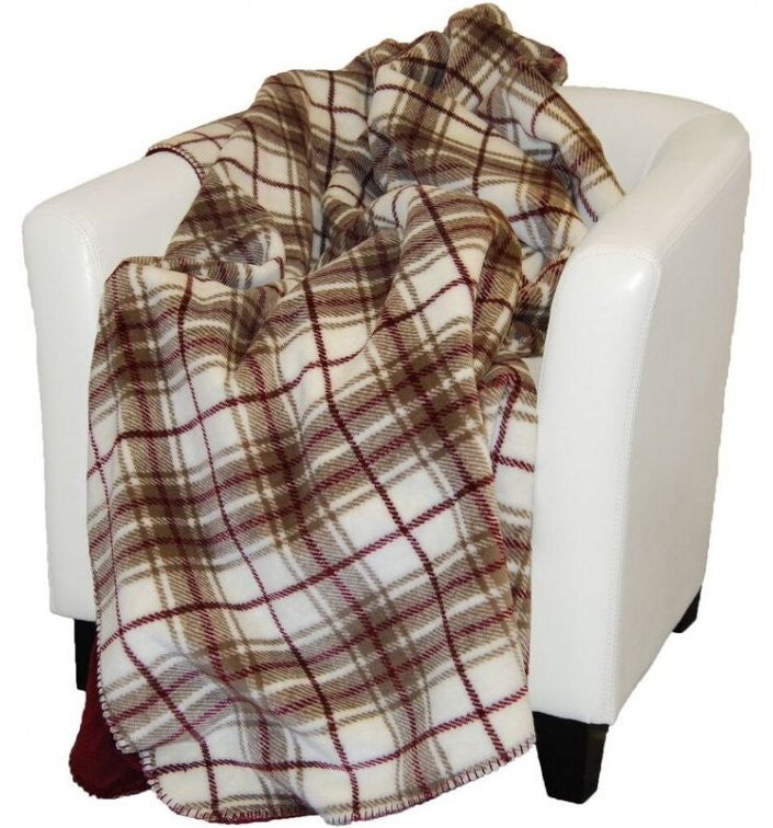 Tartan Plaid Microplush Spectator Throws/Blankets